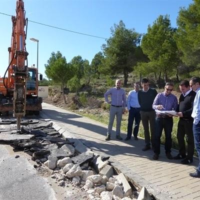 La Nucía invierte 861.470 euros en la modernización del Polígono Industrial