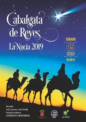 La nucia Cartel Cabalgata Reyes 2019