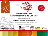 La Nucia cartel Lab_Nucia Libertad Financiera 2019